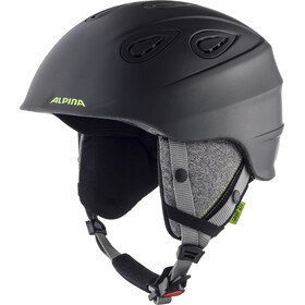 Alpina Grap 2.0 Casque, charcoal-neon matt